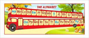 Алфавіт для кабінету англійської мови